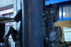 horse market statue