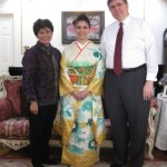 Me and my parents for the coming of age ceremony