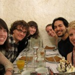 Here is a group of IES students at our favorite Crêperie in Nantes.