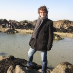 This is me in St. Malo, one of my favorite places on earth.