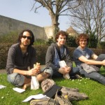 IES students at the Château of Caen.