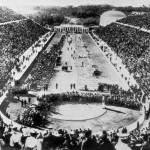 The Opening Ceremony at the 1896 Athens Olympics