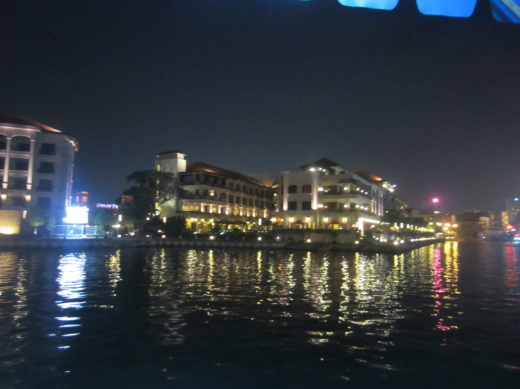View from the Melaka Riverboat Cruise