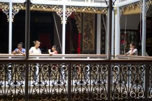 balcony at peranakan museum