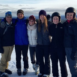 Zach, Pat, Kenzie, Me, Erin, Britta