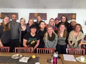 Photo by Maria Jeremiason! Here's some of our friends at the Mora Folkhogskola at Fika